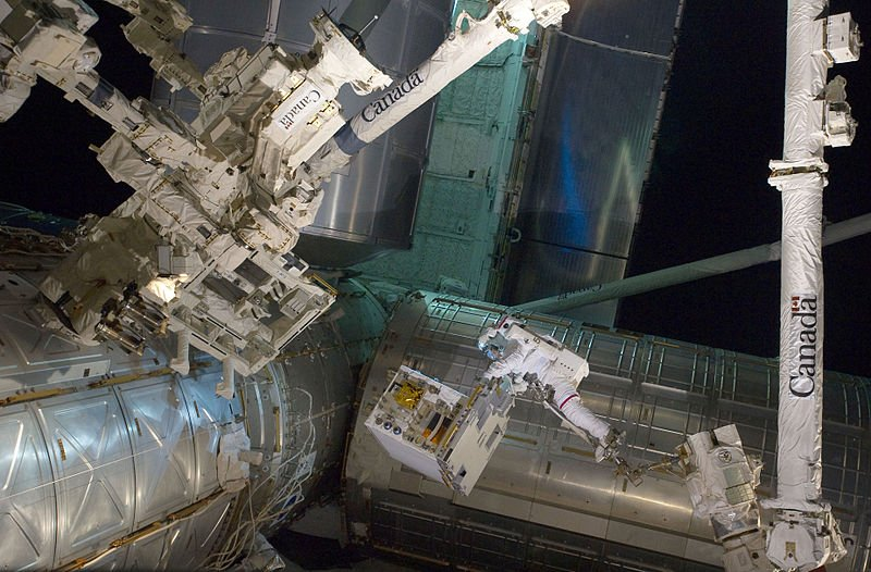 Robotic Refueling Mission at the ISS