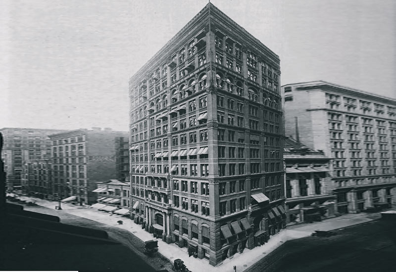 Home Insurance Building in Chicago