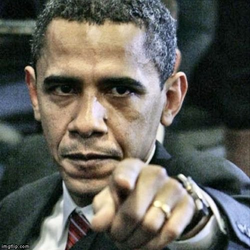 obama pointing finger