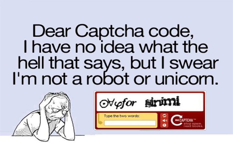 Captcha meme