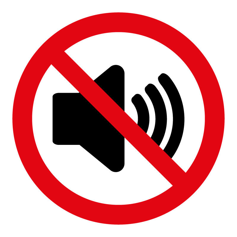No Sound Sign(LDDesign)s