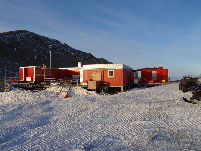 Troll research station Antarctica