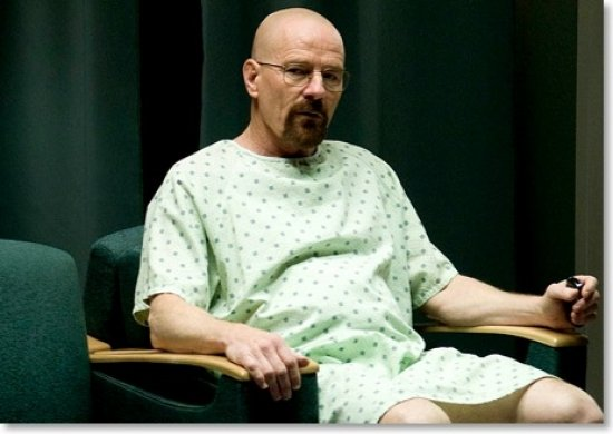 walter white chemotherapy in hospital