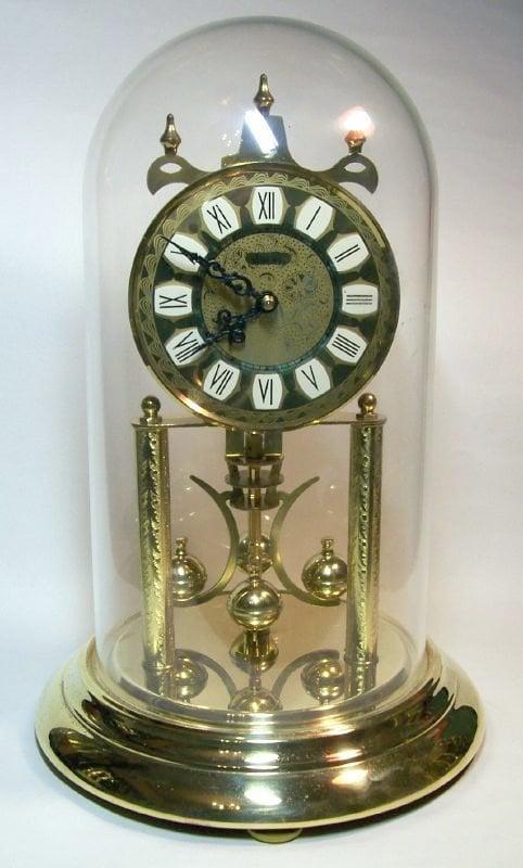 Haller torsion pendulum anniversary clock