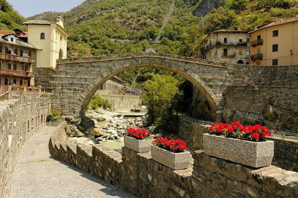Pont romain-Pont st Martin