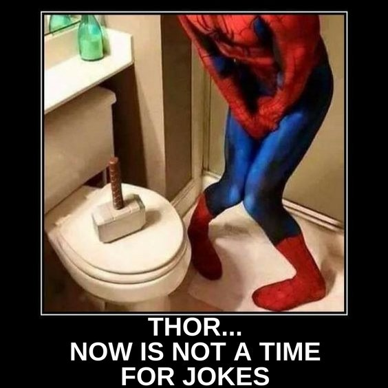 Spiderman thor meme