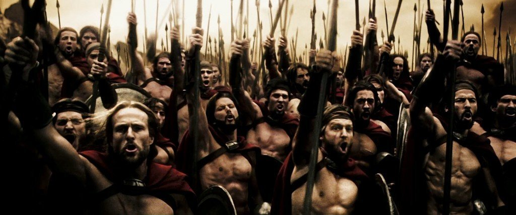 300-movie Spartans