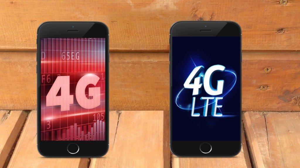 4G versus 4G LTE