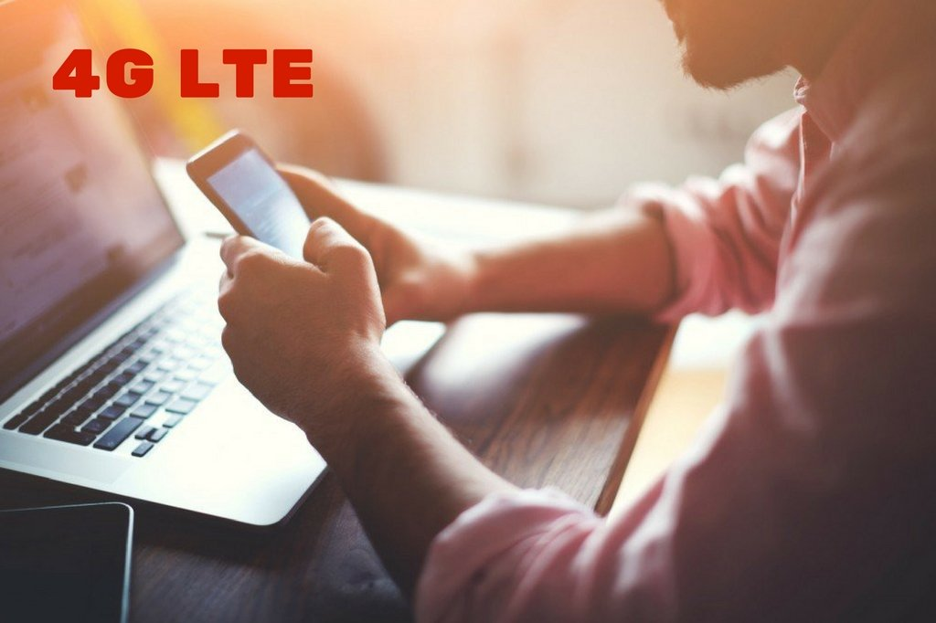 4G LTE Using on Mobile & Laptop