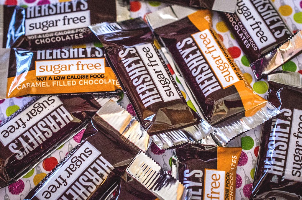 Sugarfree chocolates