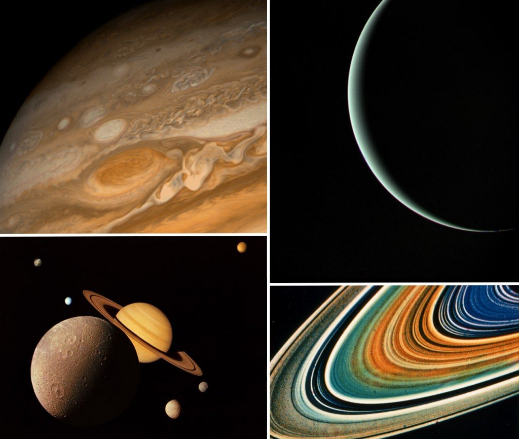Voyager captured images