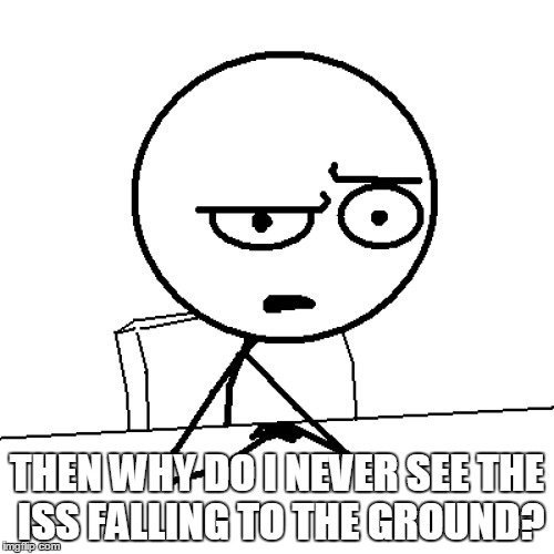 ISS Huh meme