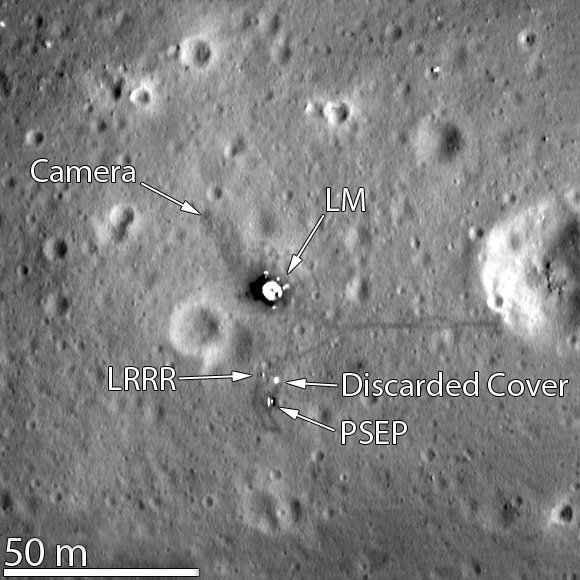 apollo11-landing-site-lro