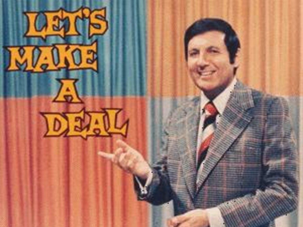 Let's Make A Deal- Opening Card