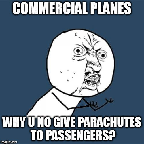 , Why Don't Commercial Airplanes Have Parachutes For All Their Passengers?, Science ABC, Science ABC
