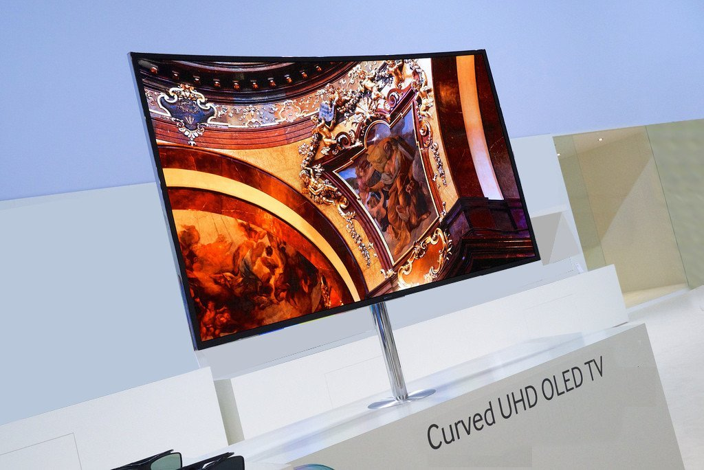 OLED Curved TV