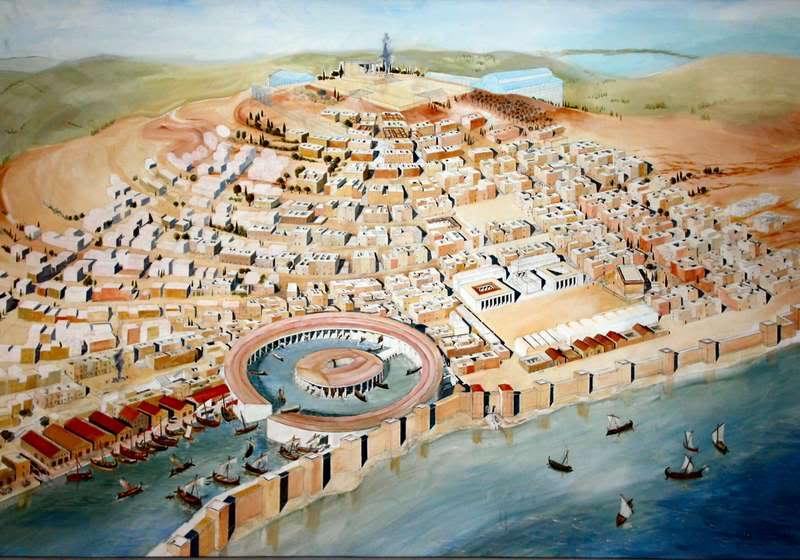 Carthage in Tunisia
