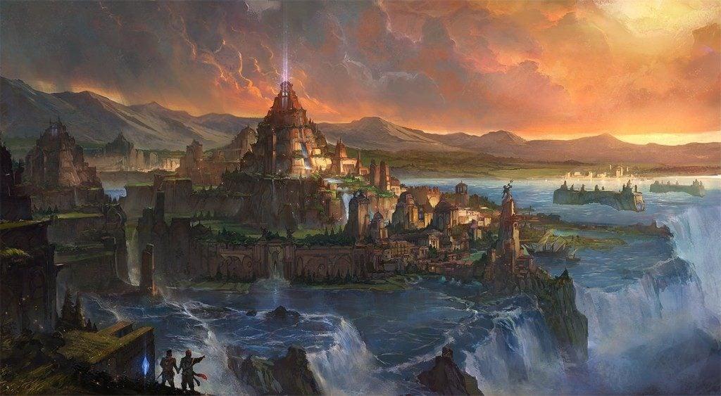 Atlantis painting