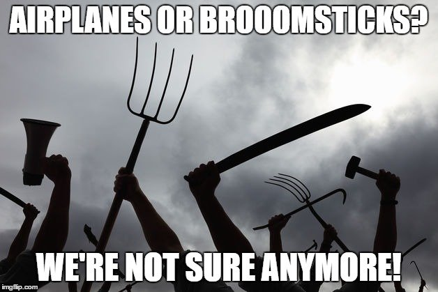 Pitchfork meme