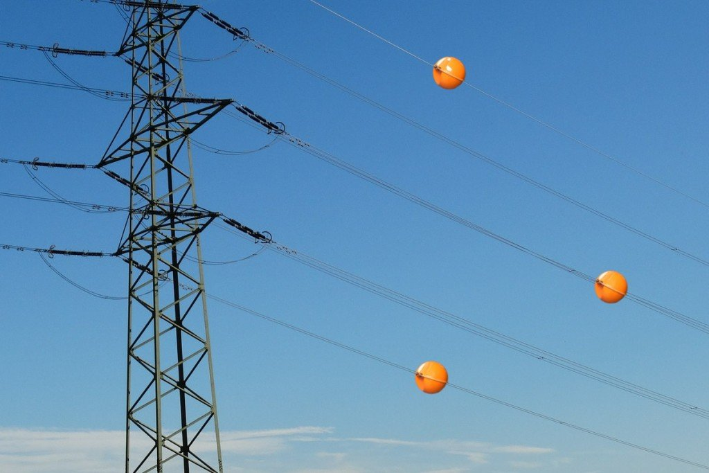 Powerline aerial marker ball