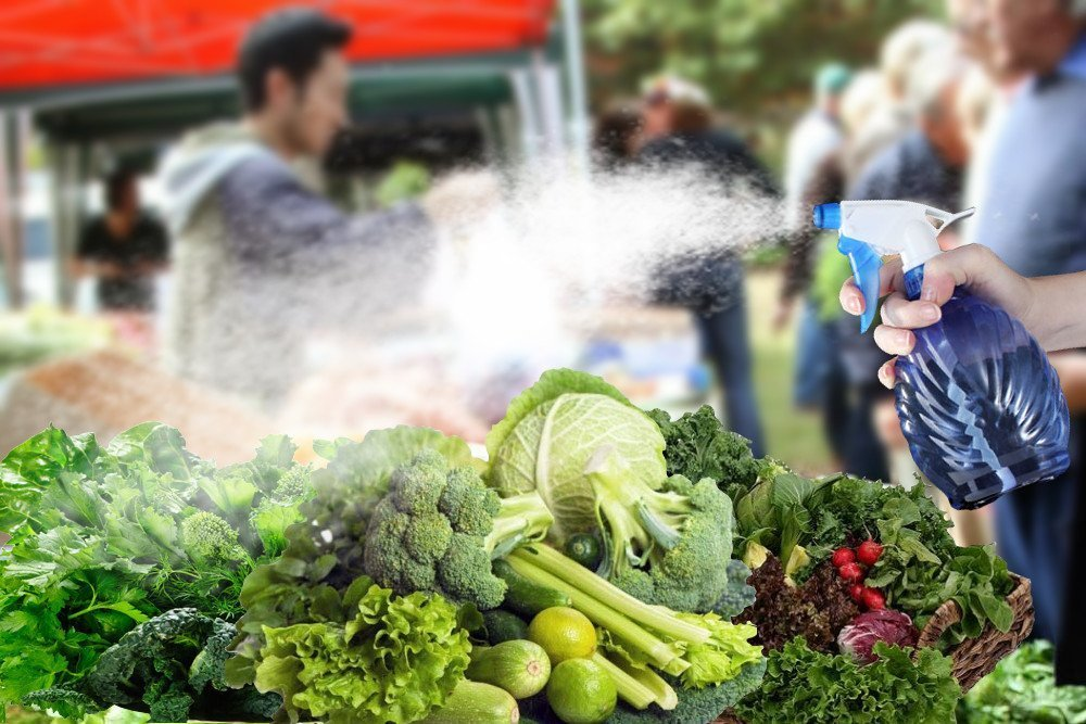 , Why Do Vendors At Grocery Stores Spray Water On Fruits And Vegetables?, Science ABC, Science ABC