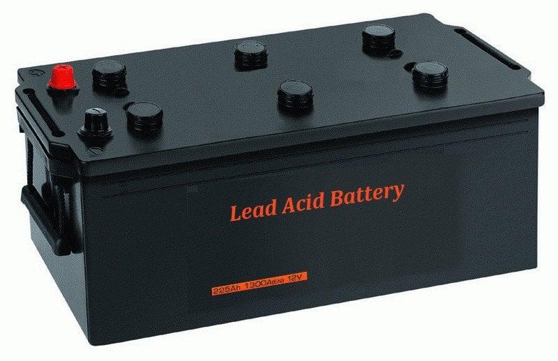 A lead acid battery