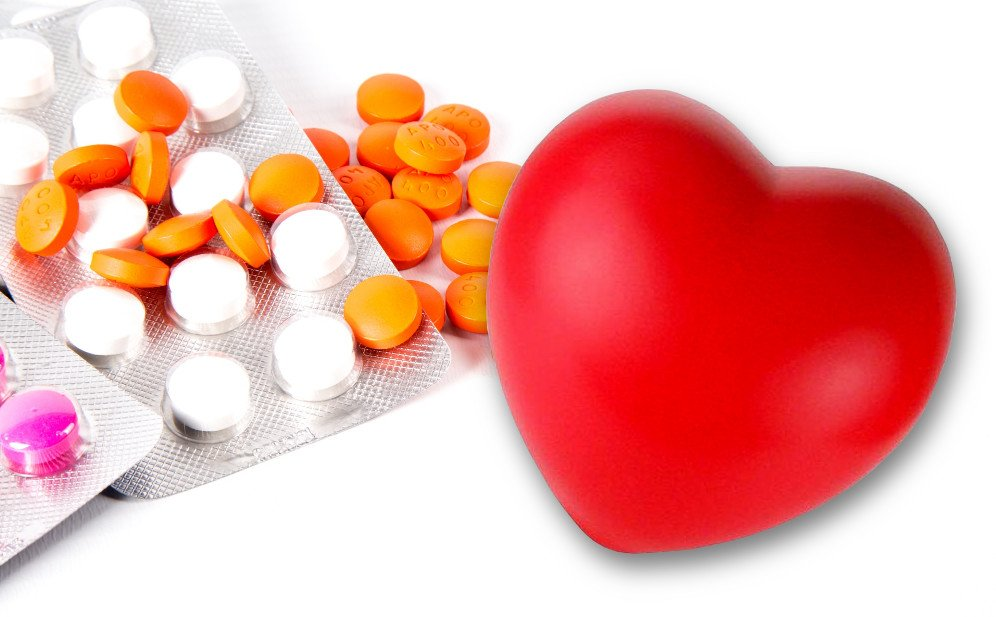 Medicine and rubber love heart