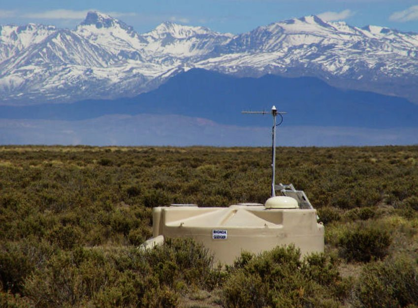 The Pierre Auger Cosmic Ray Observatory, located in Argentina, is studying the ultra-high energy cosmic rays, universe's highest energy particles, which shower down on Earth.