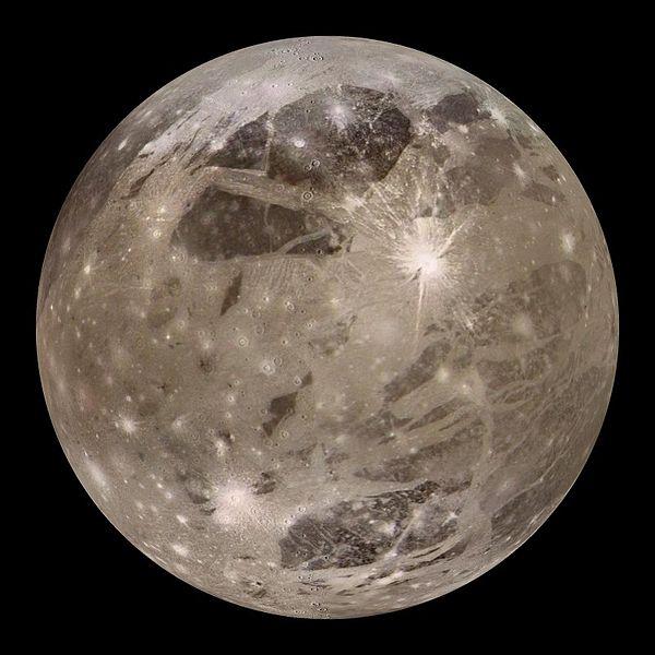 Moon Ganymede by NOAA