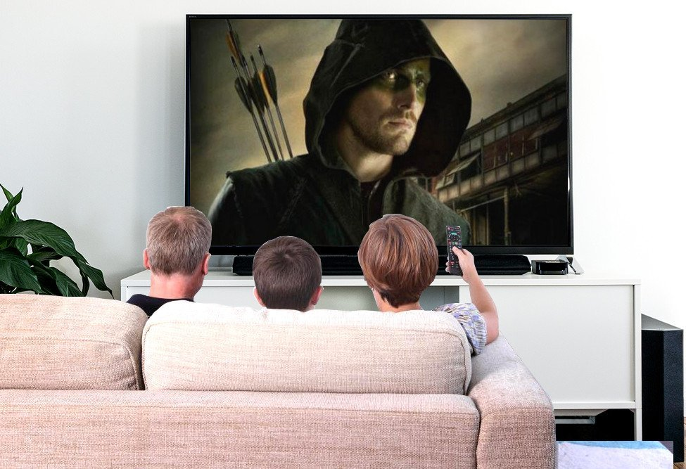 watching arrow tv show