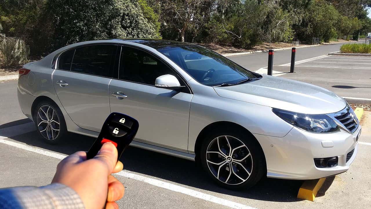 Keyless car remote & car