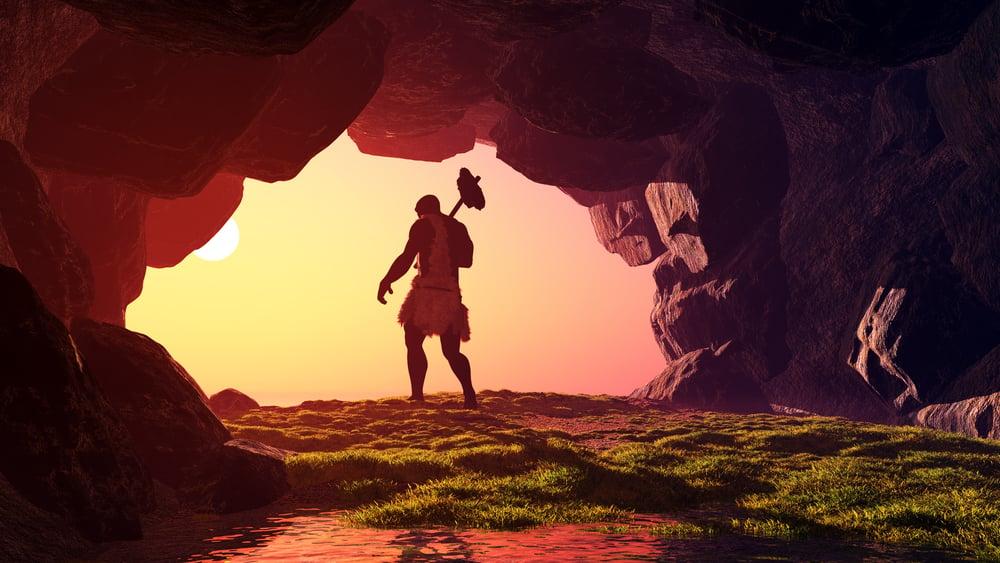 Primitive man in the cave(iurii)s