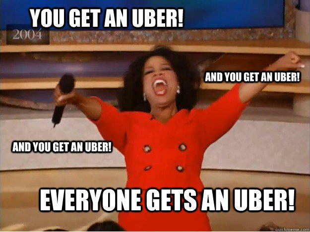 meme Everyone Gets Uber