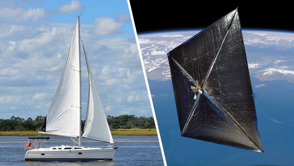 Boat sail & Solar sail