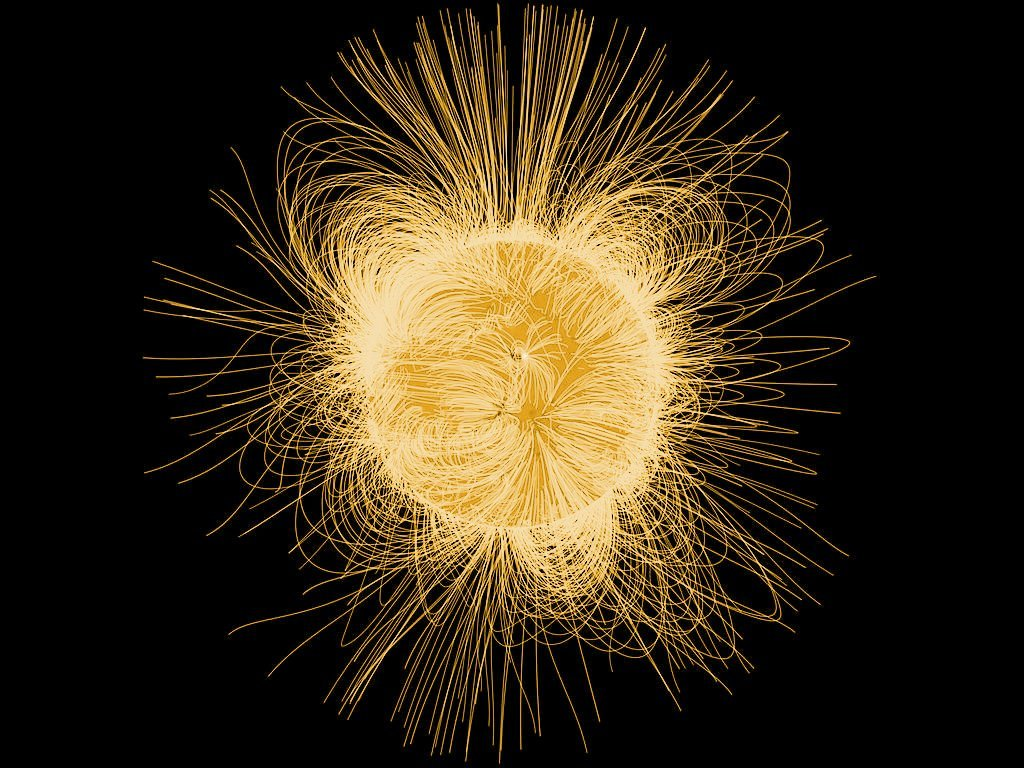 Sun magnetic field