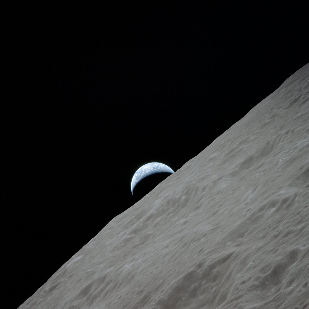 apollo 17 photo of earth from moon