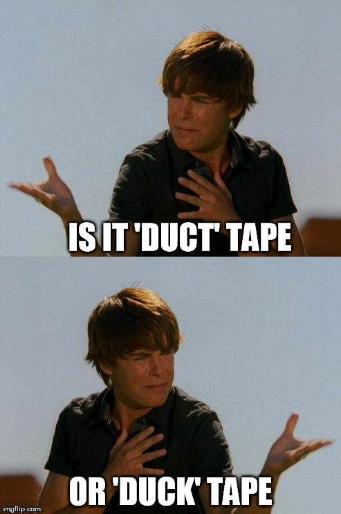 , Is It Duck Tape Or Duct Tape?, Science ABC, Science ABC