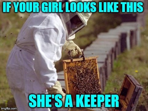 If your girl looks like this she's a keeper meme