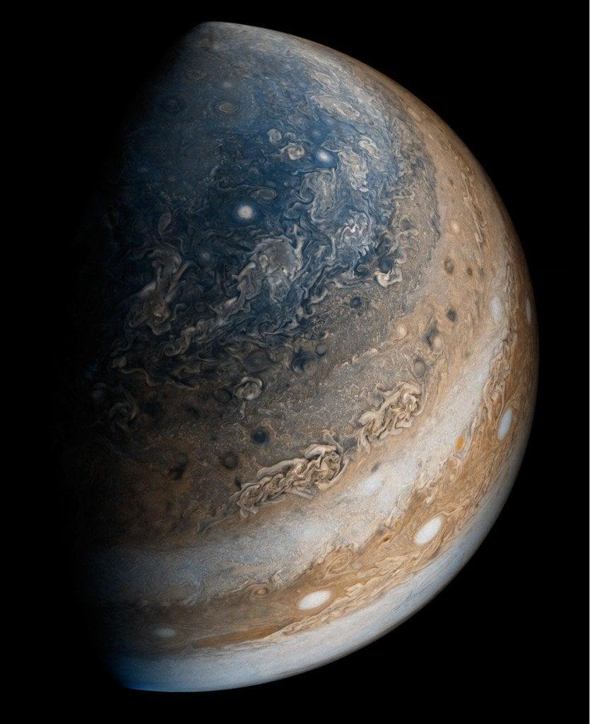 Jupiter Southern Hemisphere - Juno