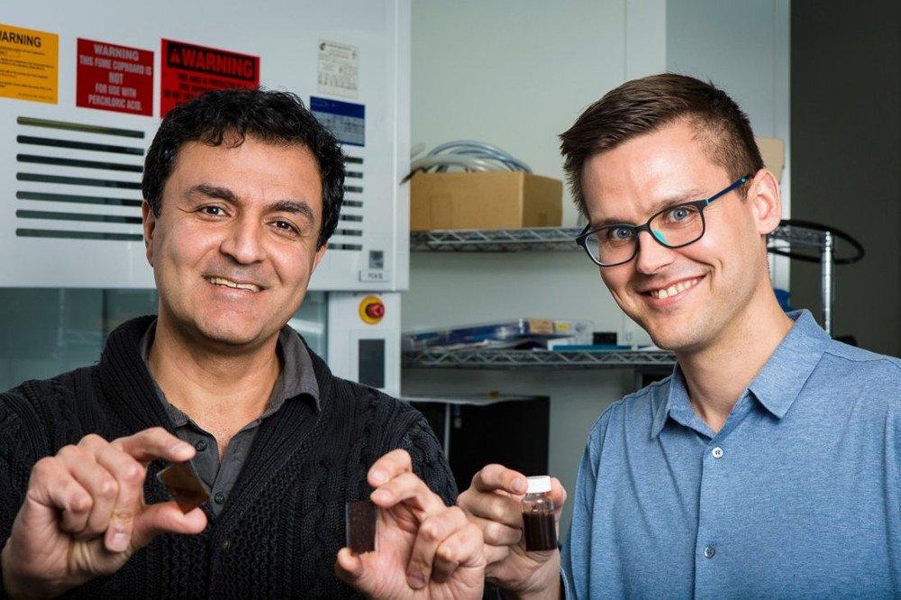 Professor Kourosh Kalantar-zadeh and Dr Torben Daeneke