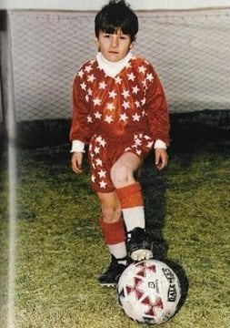 Young Lionel messi