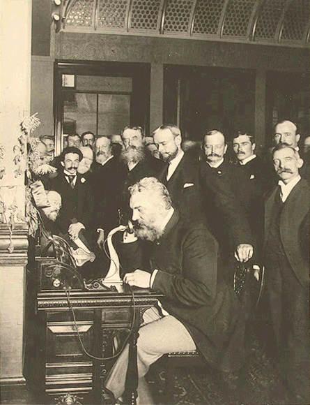 Alexander Graham Telephone in New york
