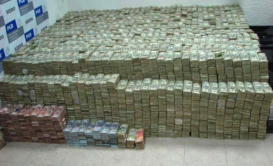 Huge pile of cash