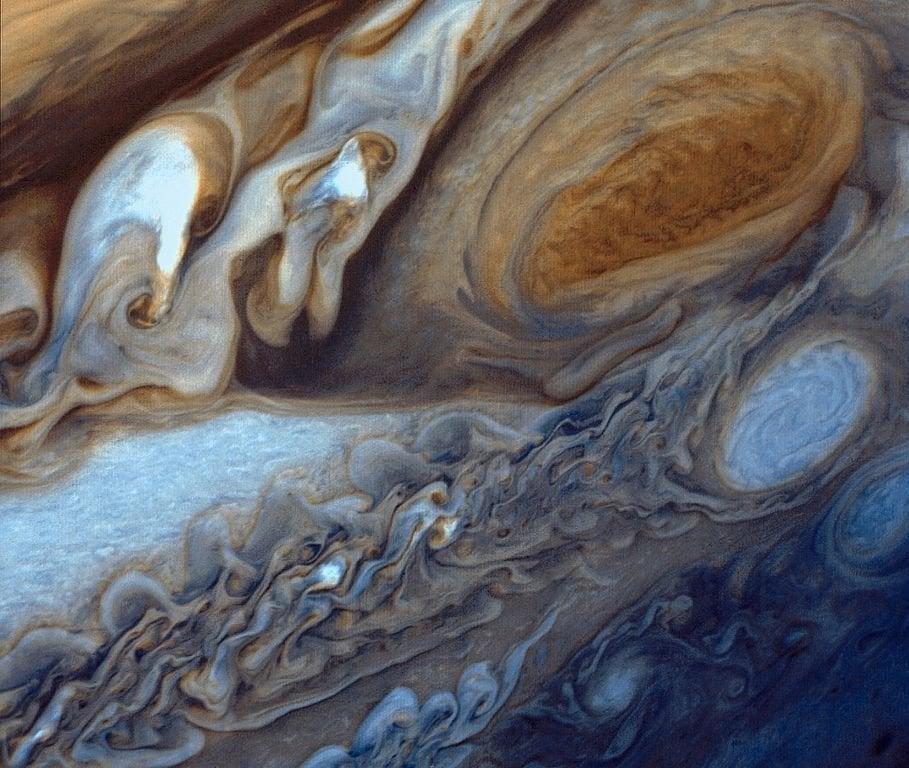 Jupiter Surface from Voyager 1