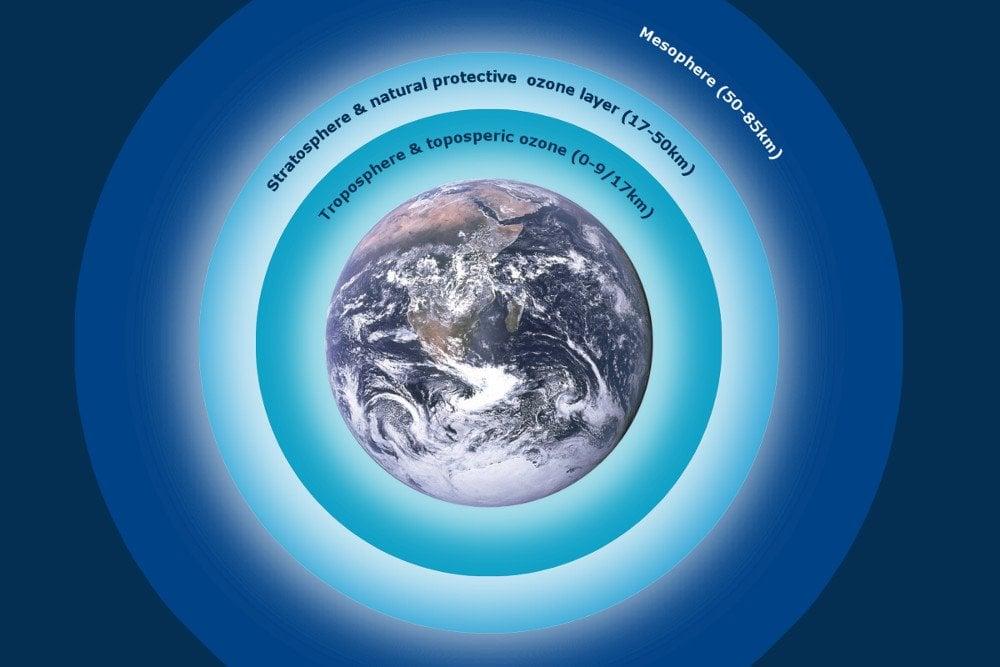 Ozon layers