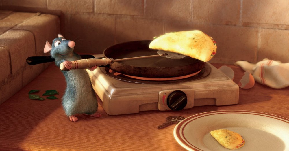 Ratatouille movie scene