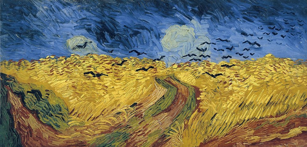 Wheatfield with Crows painting - Vincent Van Gogh