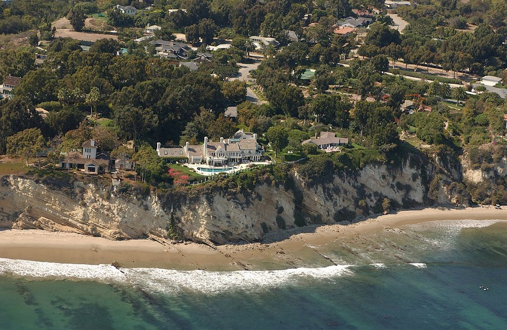 Barbra Streisand's Malibu house Streisand Estate