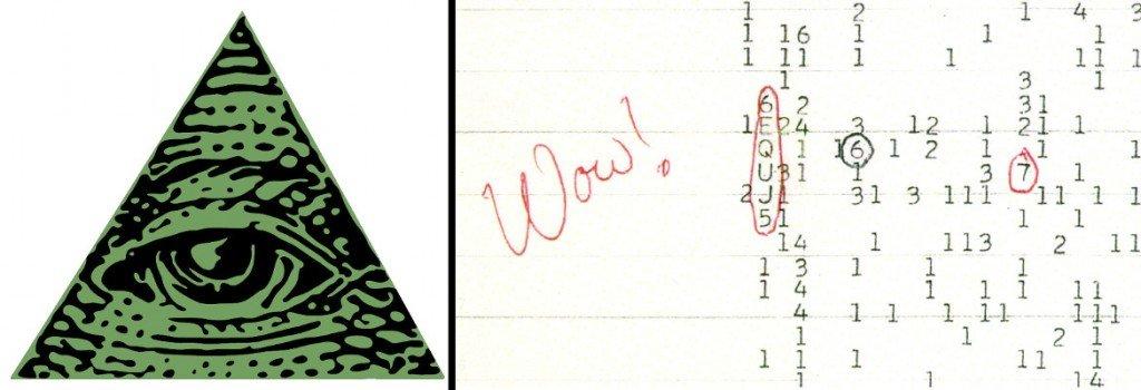 Illuminati Logo & Wow signal