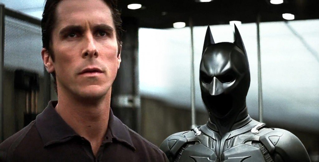The dark knight bruce wayne and batman suit Christian Bale